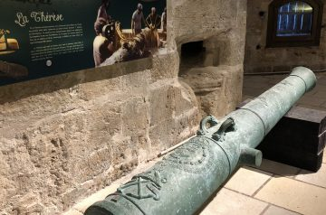 The canons of La Thérèse in Koules Fortress, Heraklion