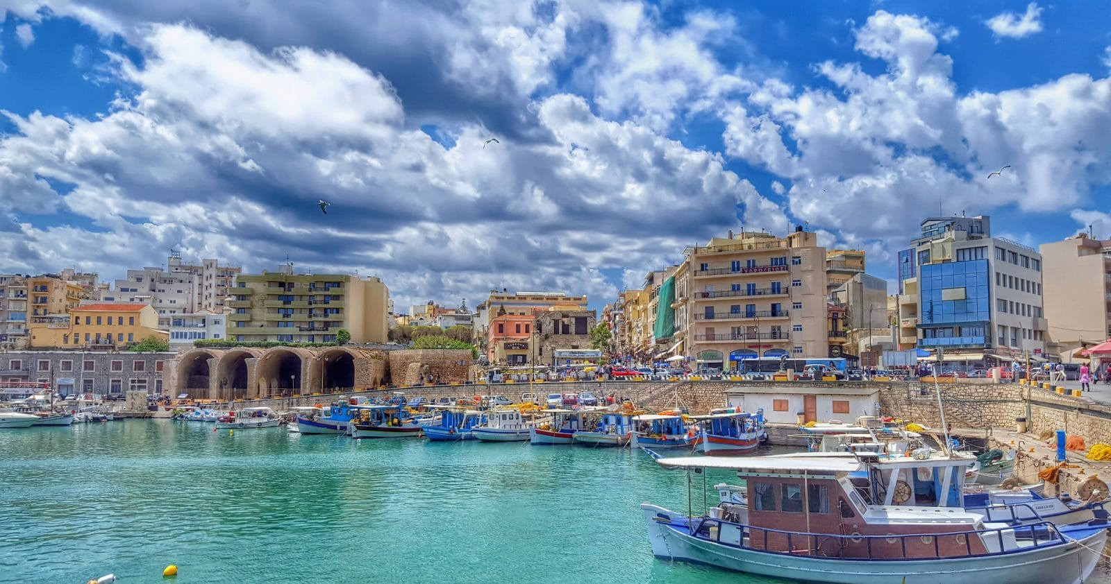 A short history of Heraklion City – Crete Greece