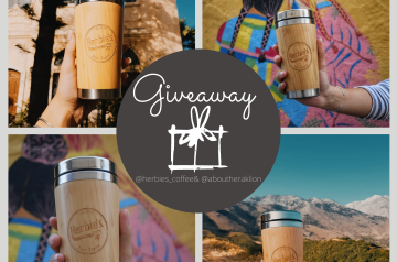 Giveaway by Herbies Coffee!