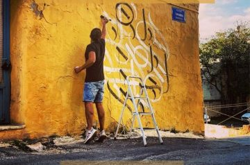 Interview with RamZ (Ramzi Saibi) – Artist of Lakkos Area in Heraklion