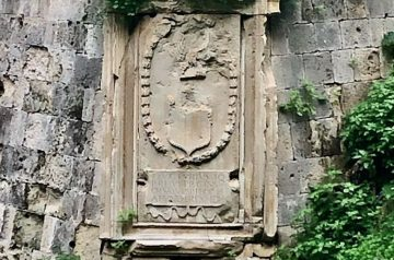 Emblems of Venetian Gates in Heraklion Crete (Vitturi Bastion)